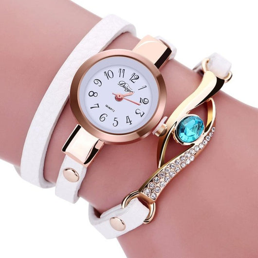 Diamond Bracelet Watch - Shopichic