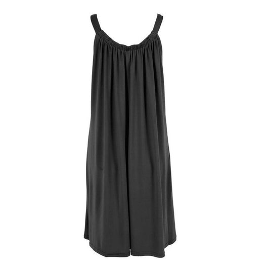 Loose-Fitting Sleeveless Mini Dress - Shopichic