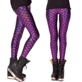 MERMAID LEGGINGS - Shopichic