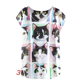 Women's Print T-shirt - Shopichic
