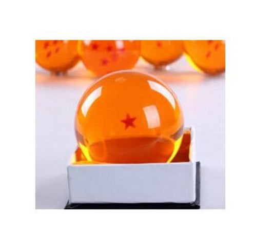 Original Box 7.5CM Dragon Ball Z Crystal Balls Action Figure 1 2 3 4 5 6 7 Star Dragonball With Free Dragon Ball Keychain - Shopichic