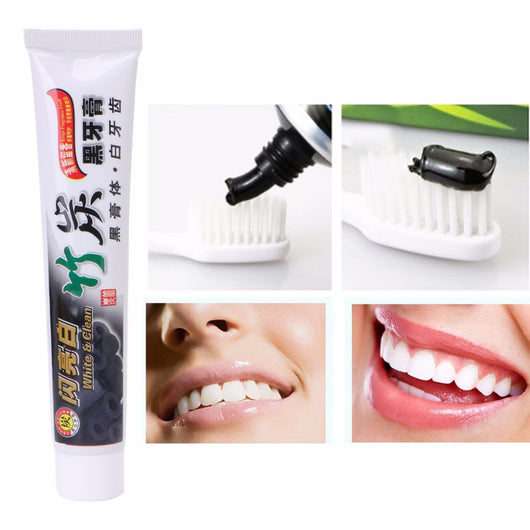 Natural Charcoal Whitening Toothpaste - Shopichic