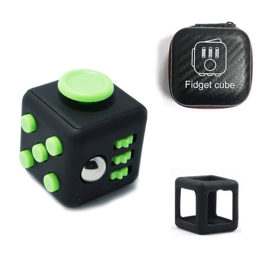 Fidget Cube Set with Zipper Box and Case - Shopichic