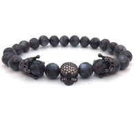 Skull Beaded Bracelet - Shopichic