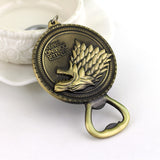 Game of Thrones Bottle Opener Key Chain - Shopichic