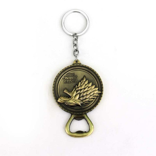 Game of Thrones Bottle Opener Key Chain