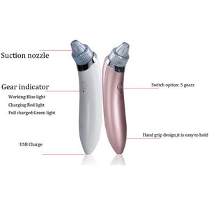 Vacuum Blackhead and Wrinkle Remover