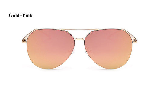 Mirrored Aviator Sunglasses - Shopichic