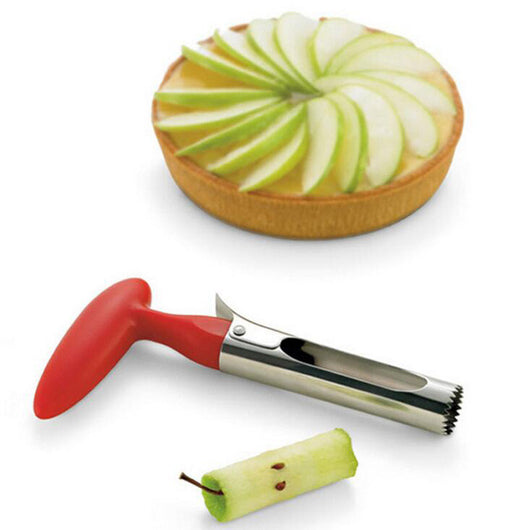 Easy Twist Stainless Steel Fruit and Vegetable Corer - Shopichic