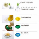8 in 1 Kitchen Multipurpose Gadget - Shopichic