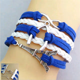Metal Rope Leather Bracelet - Shopichic