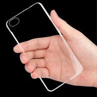Crystal Clear Plastic iPhone Case - Shopichic