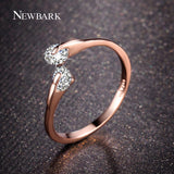 Crystal Stone Tension Ring - Shopichic