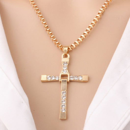 The Fast and the Furious Jesus Pendant Necklace - Shopichic