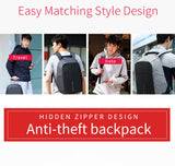 Multifunction Anti Theft Backpack - Shopichic