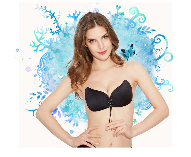 1/2 Cup Invisible Push Up Bra - Shopichic