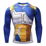 Dragon Ball T shirts Men Anime Fitness T-shirts Cosplay Compression Tshirts Bodybuilding Naruto GOKU - Shopichic