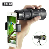 Dual Focus Telescope/Monocular With Phone Holder - Shopichic