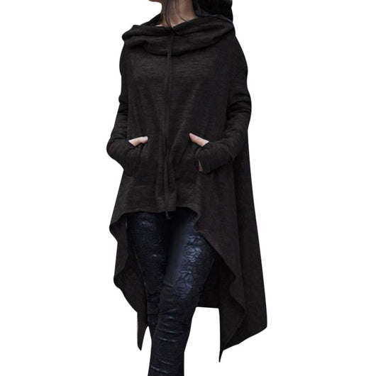 Asymmetrical Loose Jacket - Shopichic