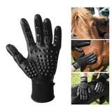 Pet Shedding Grooming Gloves - Shopichic