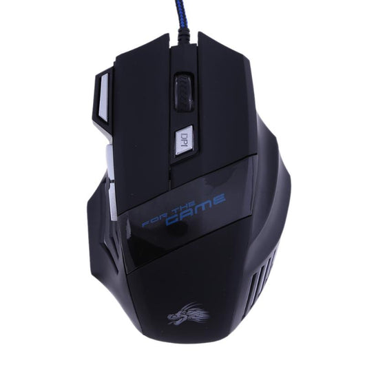 Pc gaming mouse 7 buttons 5500 DPI Led - Shopichic