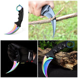 Karambit Stainless Steel Tactical Knife - Shopichic