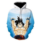 Dragon Ball 3D Hoodie Sweatshirts Unisex Hoodie Dragon Ball Z Anime - Shopichic
