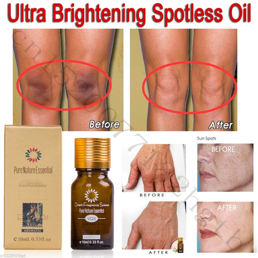 Ultra Brightening Spotless Oil Skin Care Dark Spots Marks Removal