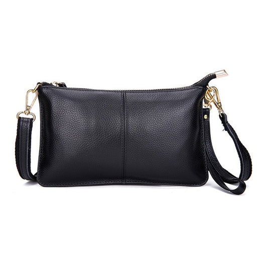 Genuine Leather Messenger Bag - Shopichic