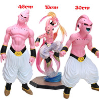 12-48cm Figuarts ZERO Majin Buu PVC Action Figures Dragon Ball Z Super Saiyan Dragonball Z Figures DBZ Esferas Del Dragon Toys With Free Necklace - Shopichic