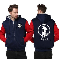 Dragon Ball Hoodies Men Sweatshirt Tracksuit Hoody with Free DBZ Necklace - Shopichic