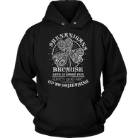 Shenanigans Because Life is More Fun Hoodie - Shopichic
