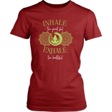 Inhale The Good S Female T-Shirt