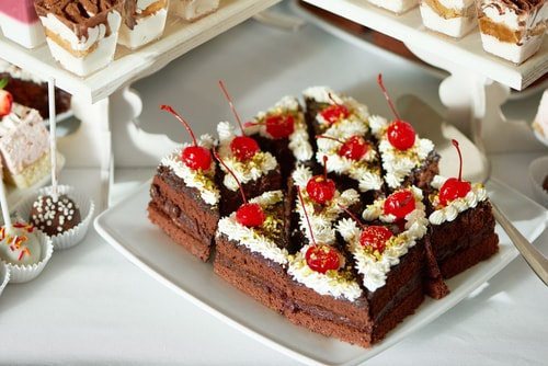 Chocolate Cherry Slice
