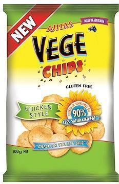 Vege Chips Chicken Style 100gm x 6