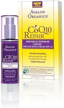 Avalon Organics Wrinkle Therapy with CoQ10 & Rosehip Day Creme 50ml