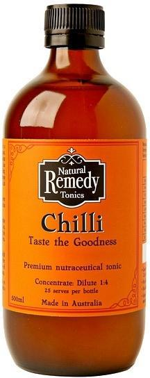 Natural Remedy Tonics Cayenne Chilli G/F 500ml