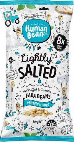 Human Bean Co Lightly Salted Multipack (8x20g) Faba Beans G/F 160g