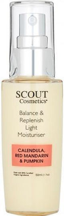 Scout Cosmetics Moisturiser Light Balance & Replenish 50ml