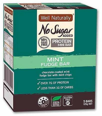 Well,naturally Hi Pro Mini Bars Pepp Surp 25gx5Bar-Health Tree Australia
