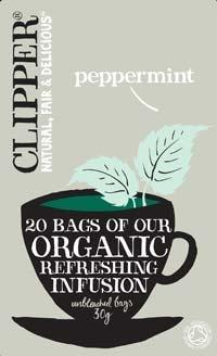 Clipper Organic Refreshing Infusion - Peppermint 20 Teabags