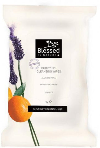 Blessed By Nature Purifying Cleansing Wipes 25Pk