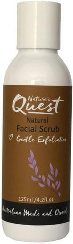Nature's Quest Facial Scrub 125ml