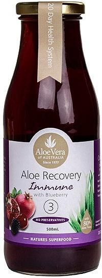 Aloe Vera Aloe Recovery Immune with Blueberry 500ml