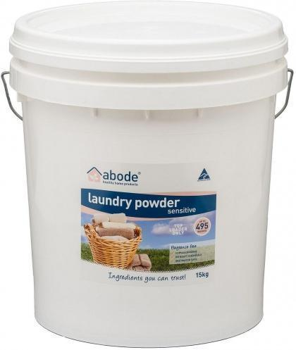 Abode Front Loader Sensitive Laundry Powder 15kg