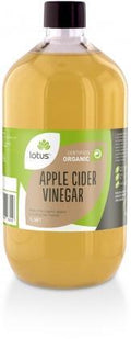 Lotus Organic Apple Cider Vinegar + (Mother) G/F 1Lt