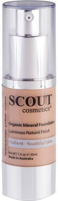 Scout Cosmetics Foundation Fluid Healthy Glow Camel 30ml