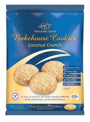 Naturally Good Coconut Crunch G/F W/F 200gm
