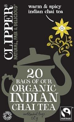 Clipper Organic Indian Chai Tea 20 Teabags
