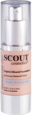 Scout Cosmetics Foundation Fluid Healthy Glow Shell 30ml